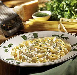 Chicken Fettuccini Alfredo Nutrition