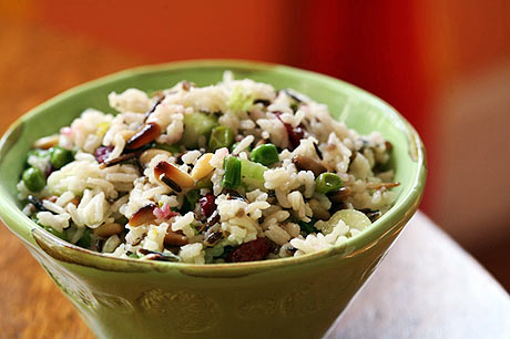 Cold wild rice salad | WizardRecipes