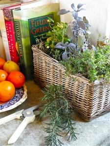 kitchen-windowsill-herb-basket