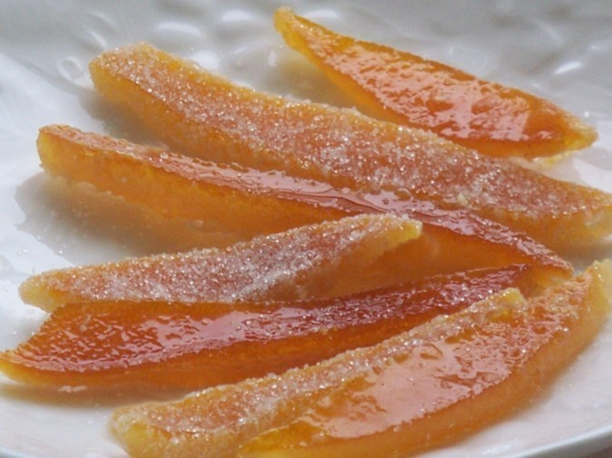 Orangettes (Candied Orange Peels) Recipes — Dishmaps