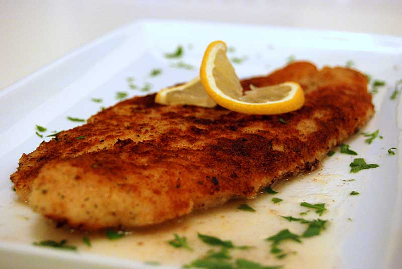 Fried sole fillets wizardrecipes for Sole fish fillet