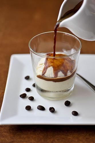 Scotch, Espresso & Vanilla Affogato Recipe — Dishmaps