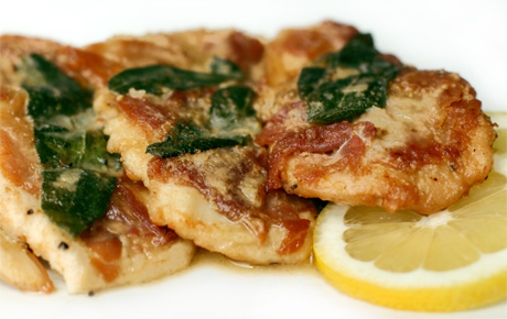 CHICKEN SALTIMBOCCA | WizardRecipes