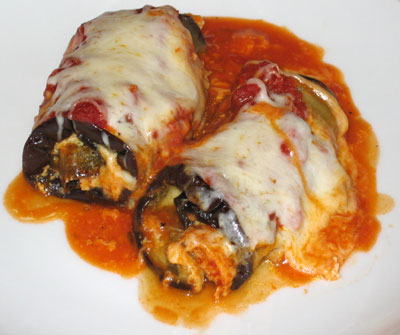 EGGPLANT ROLLATINI | WizardRecipes