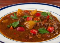 Flemish-Inspired Beef Stew with Beer and Bacon