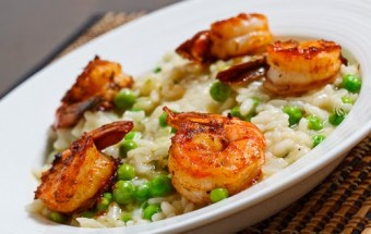 GRILLED-SEAFOOD RISOTTO