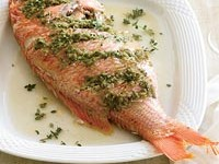 ROASTED RED SNAPPER with Rosemary