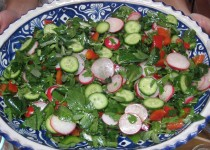 Sunset Salad with Vinaigrette