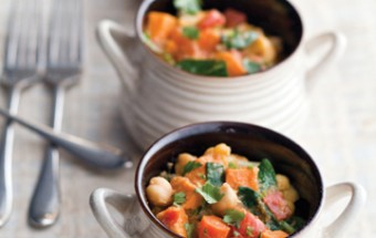 Curried Chickpeas and Autumn Vegetables