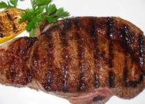 GRILLED RIB STEAKS