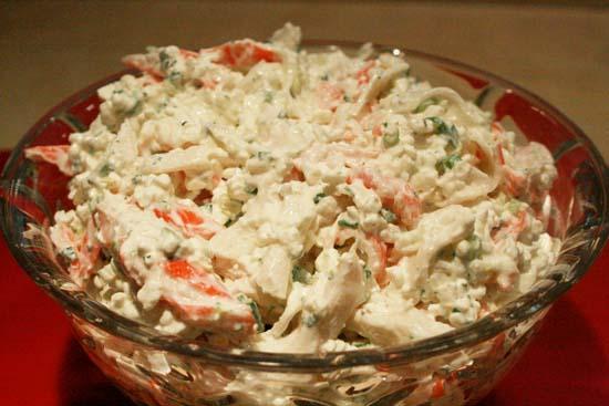 Crab Salad | WizardRecipes