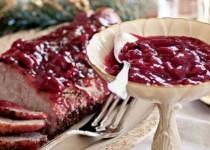 Roast Pork with Cherry Sauce