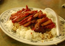 Barbecued Pork on Rice