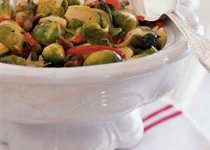 Brussels Sprouts and Chestnuts, Italian Style