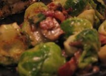 Brussels Sprouts in Sherry Cream Sauce