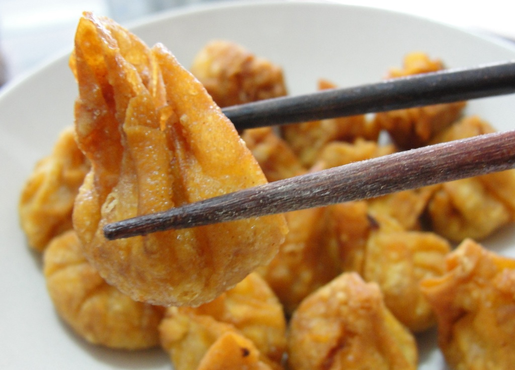Fried Won Tons | WizardRecipes