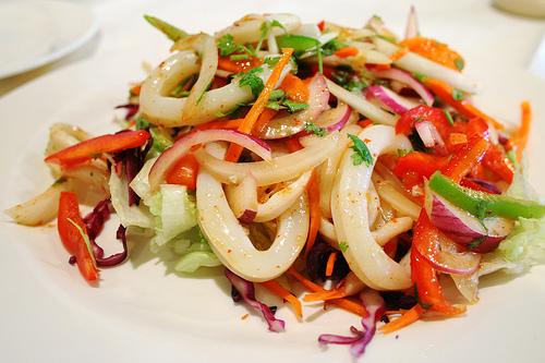 Grilled Calamari Salad | WizardRecipes