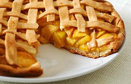 Peach Pie   WizardRecipes