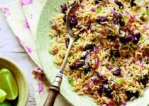 Spicy Rice Salad