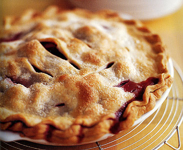 Strawberry-Rhubarb Pie | WizardRecipes