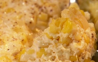 Tender Corn Pudding