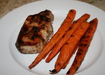Spice-Rubbed Grilled Pork and Carrots