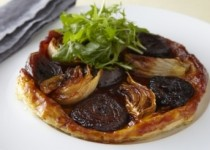 Caramelized fennel and red onions
