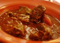 Lamb Stew with Eggplant Sauce