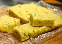 Garlic Rosemary Polenta