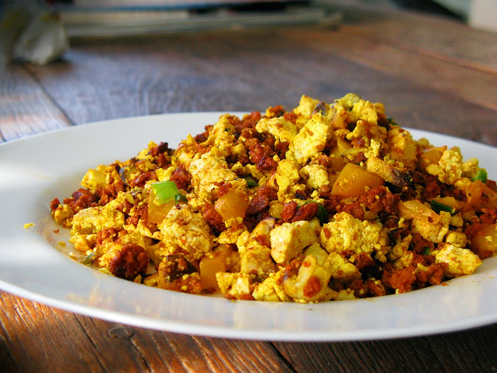 Chorizo Scrambled Eggs Recipe — Dishmaps