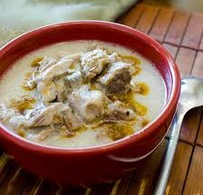 Lamb cooked in yogurt sauce