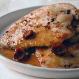 Grilled Turkey Cutlets With Cranberry Honey Mustard Sauce ...