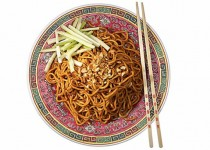 Chinese Noodles with Brown Sauce