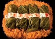 Cabbage Rolls with Sauerkraut and Pork