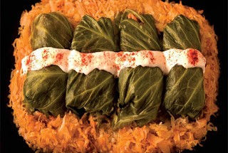 Cabbage Rolls with Sauerkraut and Pork