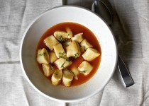 Gnocchi in Tomato Broth