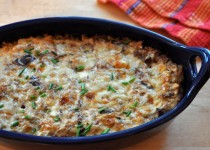 Winter Wild Rice Casserole