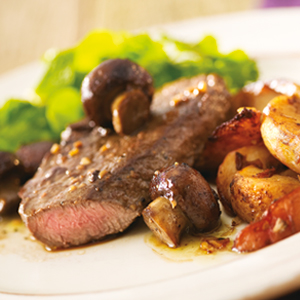 Purple Potatoes With Caramelized Onions And Shiitake Mushrooms Recipes ...