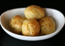 Blue Cheese and Black Pepper Gougeres