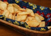 Rosemary Gruyere and Sea Salt Crisps