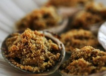 Broiled Clams with Chorizo Breadcrumbs