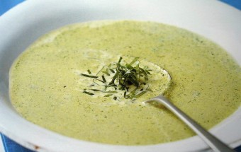 stilton and watercress soup
