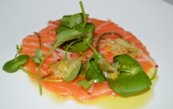Atlantic Salmon and Green Garlic