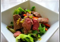 Charred Lamb Salad