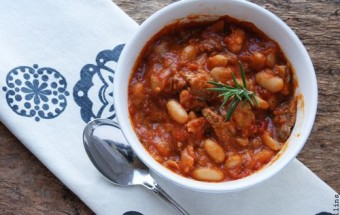 French Lamb and White Bean Ragout
