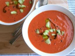 Heirloom Brandywine Tomato Gazpacho