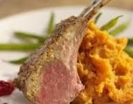 Mustard Crusted Lamb Chops