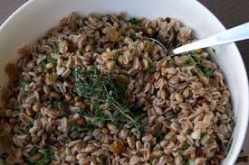 Farro Salad Agrodolce