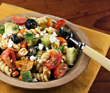 Mediterranean pasta recipes