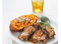Sage Pork Medallions with Maple Glaze